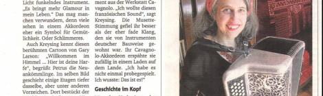 Feature in der Münsterschen Zeitung, 14.8.2014
