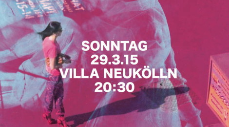 Stummfilmabend in der Villa Neukölln, 29.3.2015, Berlin