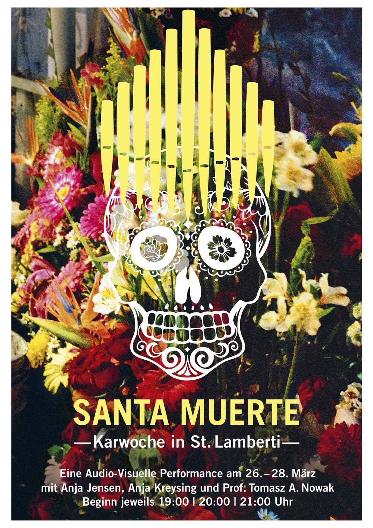 SANTA_MUERTE Plakat