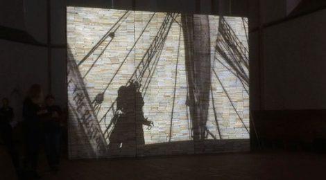 """this honourable fish: live-soundtrack für """"NYsferatu"""" von Andrea Mastrovito, 23.3.2018, Kunsthalle Osnabrück"""