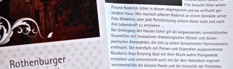 """""""Der Untergang des Hauses Usher"""", 8.11.2014, Rothenburg ob der Tauber"""