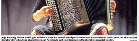 "hna am 19.5.2017, Konzertankündigung ""Neue Improvisationsmusik"", Kassel"